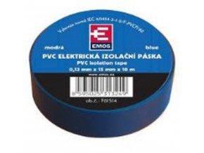 Páska Izolační 15mm x 10m - modrá