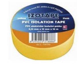 Páska Izolační 15mm x 10m - žlutá