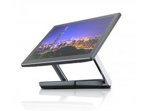 "Pokladní systém FEC XPOS 3685, 15"" LED LCD, PCAP, Intel Core i3-7100U 2,4GHz , 4GB, bez HDD, ZB, stříbrná"