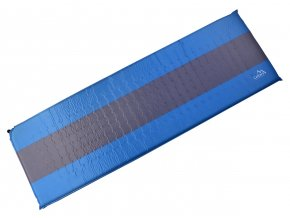 Karimatka Cattara samonafukovací 195 x 60 x 5 cm modro-šedá