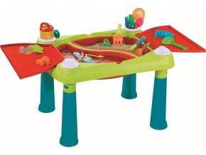 Dětský stolek Keter Creative Fun Table tyrkysový / červený