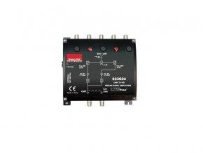 Anténní zesilovač Emme Esse 82362G, domovní, 1x(DAB G30dB+UHF G40dB), filtr 5G, U115/123dBμV