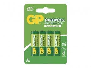 Baterie AA (R6) Zn-Cl GP Greencell 4ks