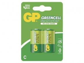 Baterie C (R14) Zn-Cl GP Greencell 2ks
