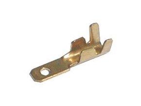 Konektor faston neizolovaný 6.3mm 1.0-2.5mm
