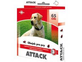 Obojek pro psy STACHEMA Attack antiparazitní 65 cm