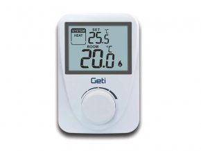 Termostat GETI GRT01 drátový