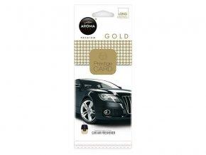 Vůně do auta CAR CITY Card gold