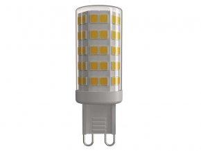 Žárovka LED G9 4,5W bílá teplá EMOS ZQ9540