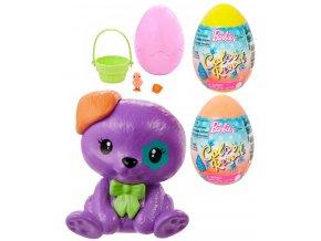 MATTEL BRB Barbie Color reveal set velikonoční vajíčko se zvířátkem a doplňky