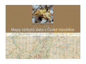 mapa vyskytu zlata v cr