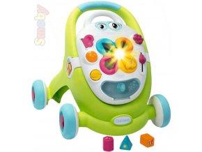 SMOBY Cotoons baby chodítko plastové zelené na baterie Světlo Zvuk