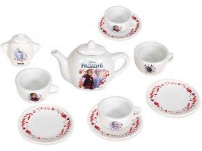 SMOBY Set kávový Frozen 2 (Ledové Království) dětský porcelánový servis 12ks