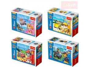 TREFL PUZZLE Mini Maxi Tlapková Patrola 20 dílků 4 druhy skládačka v krabičce