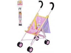 ZAPF BABY BORN Kočárek golfové hole se síťkou pro panenku miminko