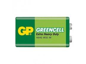 Baterie 6F22 (9V) Zn-Cl GP Greencell