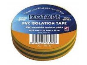 Páska Izolační 15mm x 10m - zeleno - žlutá
