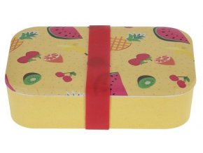 Box na svačinu bambusové vlákno žlutá EXCELLENT KO-170427280