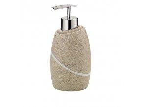 Dávkovač mýdla TALUS poly, dekor kámen béžový KELA KL-20297