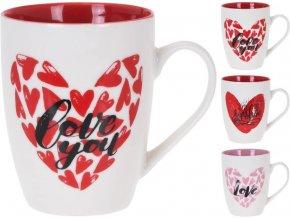 Hrnek keramika 330 ml LOVE EXCELLENT KO-Q75900260