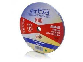 Kotouč řezný INOX - 5 ks - 230x1,8x22 mm ERBA ER-07210