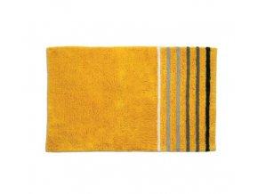 Koupelnová předložka LADESSA STRIPES 80x50 cm žlutá KELA KL-22116