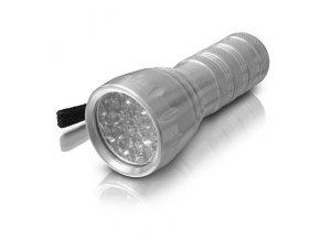 LED svítilna 21 LED - kapesní ERBA ER-25503