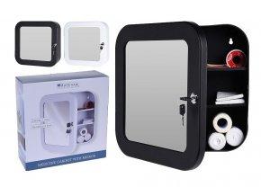 Lékárnička se zrcadlem bílá EXCELLENT KO-C80602000bi