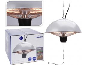 Ohřevná topná lampa na zavěšení infrazářič 1500W PROGARDEN KO-EL4000030