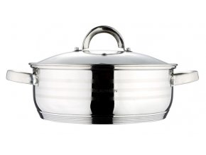 Pekáč / hrnec s poklicí nerez 22 cm Gourmet Line BLAUMANN BL-1002