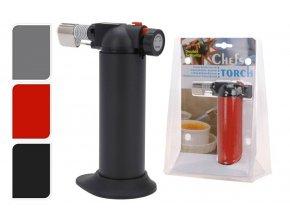 Plynový hořák kuchyňský černá EXCELLENT KO-YV1800640ce