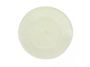 Prostírání KIMYA PP-plastik krémová H 0,2cm / Ř 38cm KELA KL-12339