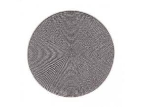 Prostírání KIMYA PP-plastik sv.šedá H 0,2cm / Ř 38cm KELA KL-12340
