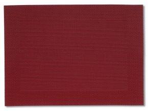 Prostírání NICOLETTA červená 45x33cm KELA KL-12043