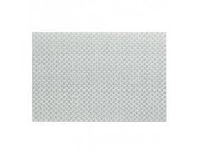 Prostírání PLATO, polyvinyl, bílé 45x30cm KELA KL-15633