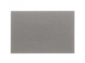 Prostírání PLATO, polyvinyl, sv.šedá 45x30cm KELA KL-11374