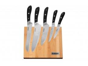 Sada nožů 6 ks Vilem s dřevěným blokem