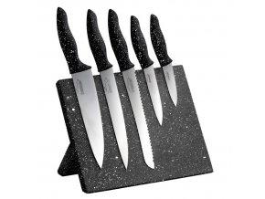 Sada nožů s magnetickým blokem 6 ks STONELINE WX-14140