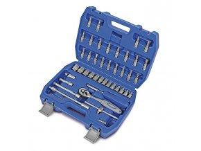 Sada nástrčných klíčů a bitů s ráčnou 46 ks
