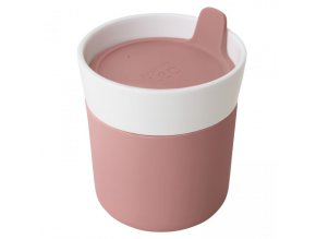 Termohrnek porcelánový s měkčeným úchopem LEO 250 ml