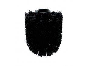 WC kartáč JAY, náhradní černý, O 7,5cm KELA KL-18924