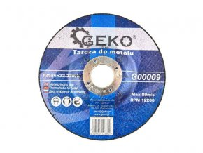 Kotouč řezný GEKO G00009 125mm