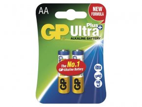 Baterie AA (R6) alkalická GP Ultra Plus Alkaline 2 ks