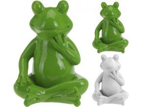 Zahradní dekorace žába střední 21 x 16 cm PROGARDEN KO-795200340