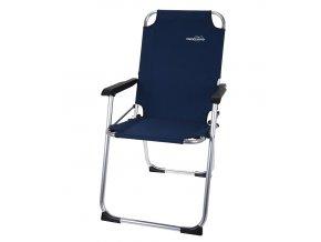 Židle kempingová REDCLIFFS tmavě modrá