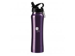 Lahev sportovní nerez 18/10 Purple Metallic Line 0,5 l