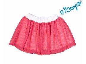 Dětská sukně Nicol, Mořská víla - červená