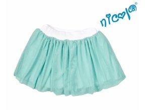 Dětská sukně Nicol,Mořská víla - zelená vel. 98