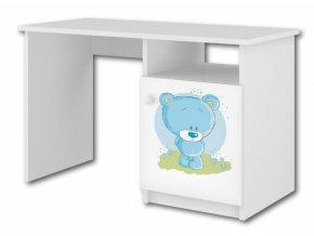 BabyBoo Psací stůl - Medvídek STYDLÍN modrý