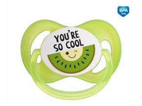 Canpol babies Dudlík symetrický So Cool 18 m+ C - zelený